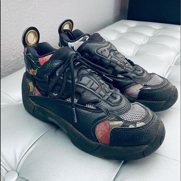 Womens Nike Air Swoopes II 2 Floral Black